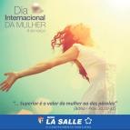 La Salle Canoas faz homenagem às mulheres