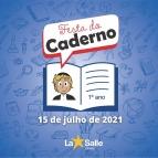 Festa do Caderno acontecerá amanhã!