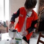 7º ano faz pão caseiro para aprender sobre fungos