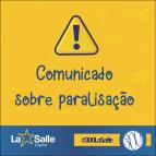 Aviso sobre Paralisação