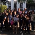 Os estudantes do Projeto Paidéia visitaram a Câmara