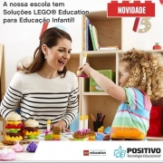 Projeto Lego Education na Educação Infantil