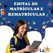 Edital de Matrículas e Rematrículas 2022