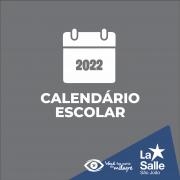 Divulgado calendário letivo para 2022