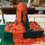 Estudantes do 6º Ano constroem vulcões