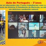 Aula de Português - 3°anos