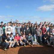Agricolinos Lassalistas visitam Ipuaçú