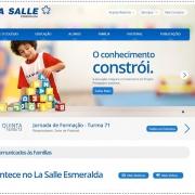 La Salle Esmeralda lança seu novo site