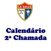 Calendário de 2ª Chamada 2019