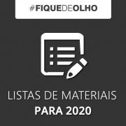 Listas de Materiais e Livros 2020