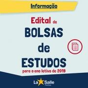 EDITAL DE SELEÇÃO DE BOLSAS DE ESTUDOS EDUCAÇÃO BÁSI