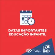 Datas importantes para a Educação Infantil