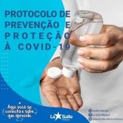 Confira o protocolo de combate à covid-19