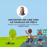 8/6: Encontro on-line com as famílias do Pré II
