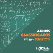 OBMEP: conheça os alunos classificados para 2ª fase