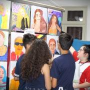 Talento e criatividade na Mostra de Arte