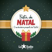 Festa de Natal será realizada nos dias 11 e 12/12