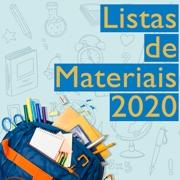 Listas de materiais - 2020