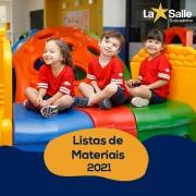 Listas de Materiais 2021
