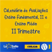 Calendário 2º Trimestre / EM - EFII