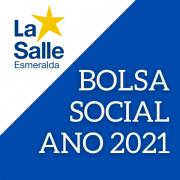 Renovação de Bolsa Social - Ano 2021
