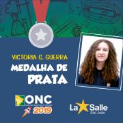 Aluna é medalhista na Olimpíada Nacional de Ciências