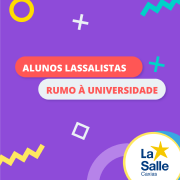 Lassalistas Rumo à Universidade - Lista 2
