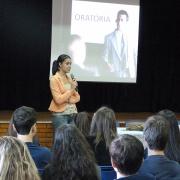 Ensino Médio assiste a palestra sobre Oratória