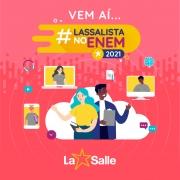 #Lassalista no Enem 2021