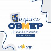 7 a 11/6: Aquece OBMEP