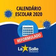 Calendário Escolar é reformulado em razão da Covid19