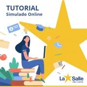 Tutorial de acesso para o Simulado Online