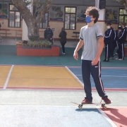 Skate no La Salle Carmo