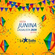 Festa Junina Online Lassalista 2020 dia 26/06