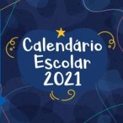 Calendário Escolar Letivo 2021