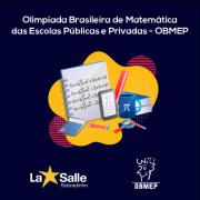 Colégio está participando da 16ª OBMEP
