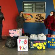 Ação solidária entre Escolas
