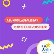 Lassalistas Rumo à Universidade - Lista 1