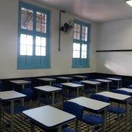 Salas de Aula amplas e climatizadas
