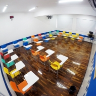 Sala de aula Fundamental II