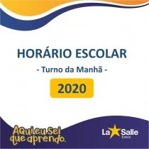 Horário Escolar 2020