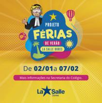 Projeto Férias de Verão no La Salle Dores!