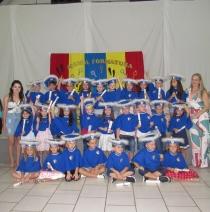 Festa para os alunos formados na  Educação Infantil