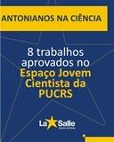 Antonianos são aprovado no Jovem Cientistas da PUC