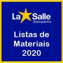 Listas de Materiais 2020