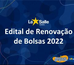 Renovação de Bolsas de Estudos 2022