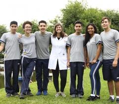 Estudantes são medalhistas na ONC 2019