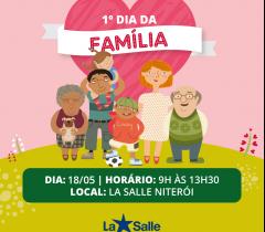 18 de maio: 1º dia da família 2019!