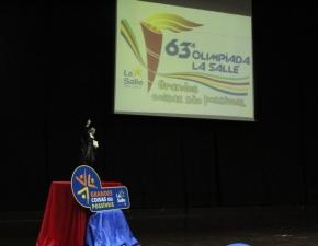 Lançamento da 63ª Olimpíada La Salle