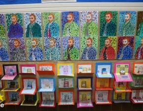 Obras de arte lassalista trazem cor e alegria a escola